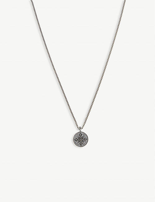 EMANUELE BICOCCHI Sterling silver coin necklace
