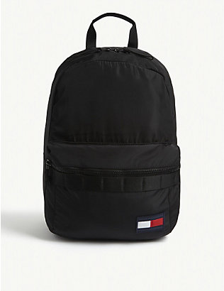 TOMMY HILFIGER: Sport branded woven backpack