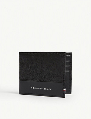 TOMMY HILFIGER Sport leather billfold wallet