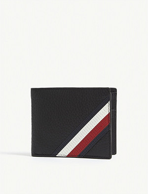 TOMMY HILFIGER Downtown leather wallet