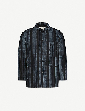 TOOGOOD Carpenter graphic-print cotton jacket