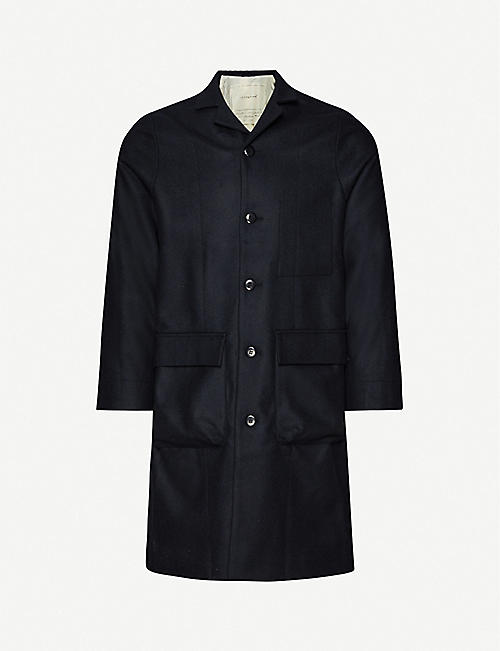 TOOGOOD: The Photographer buttoned wool jacket
