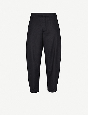 TOOGOOD The Artist cropped wool and cashmere-blend trousers