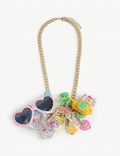 COMME DES GARCONS GIRL: Toy trinket necklace