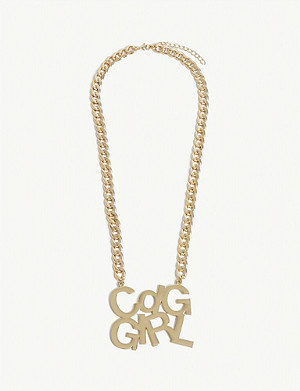 COMME DES GARCONS GIRL 'CDGGIRL' pendant necklace