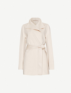 JOSEPH Lima wool and cashmere-blend belted coat