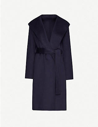 JOSEPH: Lima wool and cashmere-blend double face coat