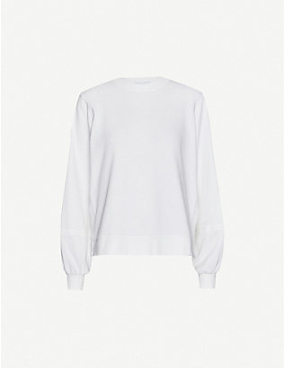 GANNI: Isoli cotton-jersey sweatshirt