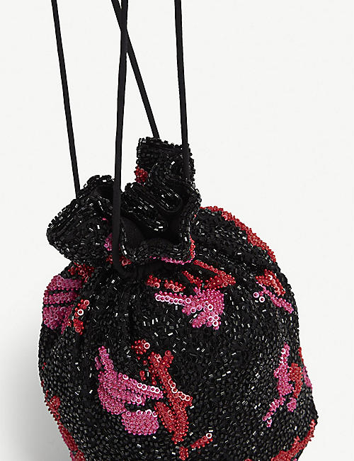 GANNI Beaded bag