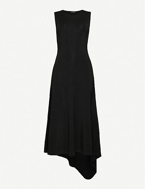 JOSEPH: Bowie Milano asymmetric stretch-jersey dress