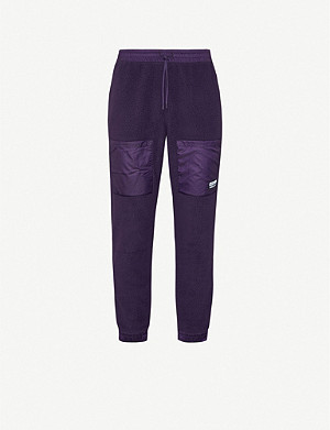ADIDAS Vocal fleece and shell jogging bottoms