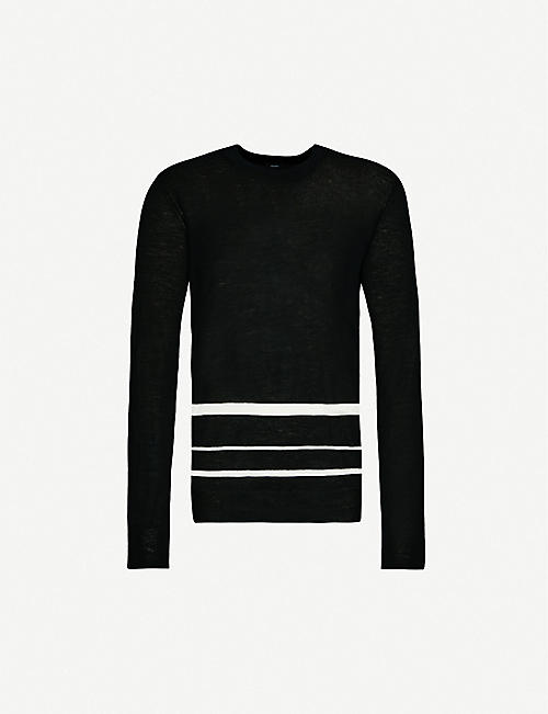 JOSEPH: Cashair Novelty cashmere jumper