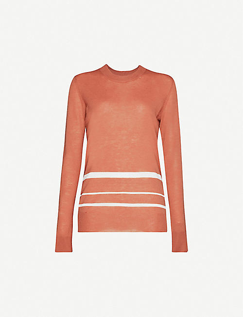 JOSEPH Cashair Novelty cashmere jumper