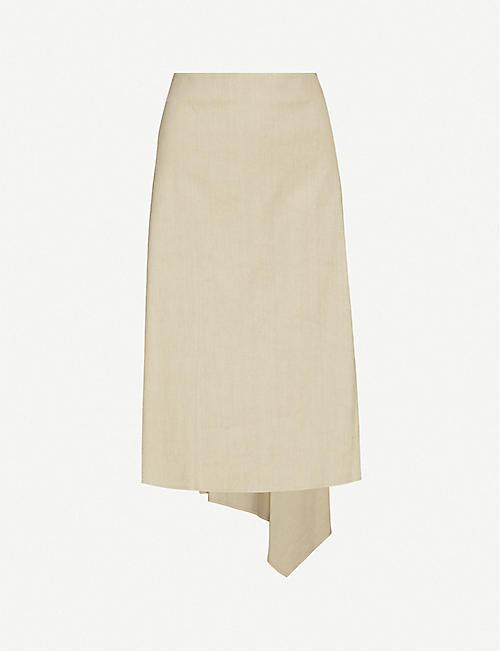 JOSEPH: Dillion Stretch Linen Skirt
