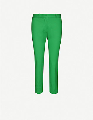 JOSEPH: Bing Court stretch-cotton trousers