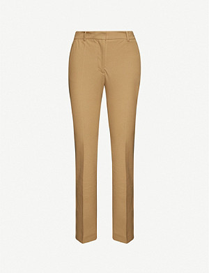 JOSEPH Coleman stretch-gabardine straight leg trousers