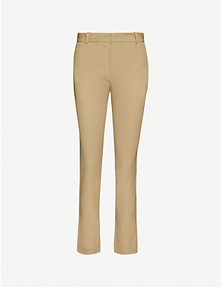 JOSEPH: New Eliston stretch-gabardine trousers
