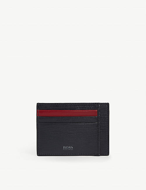 BOSS Cosmopole leather card holder