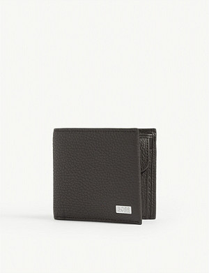 BOSS Crosstown leather billfold wallet