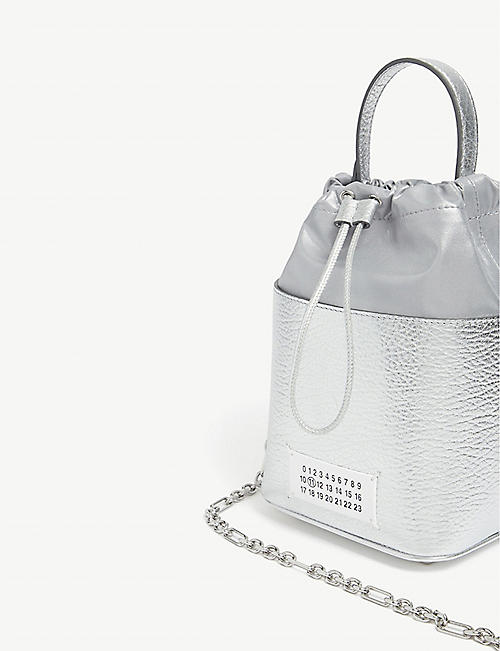 MAISON MARGIELA Leather bucket bag