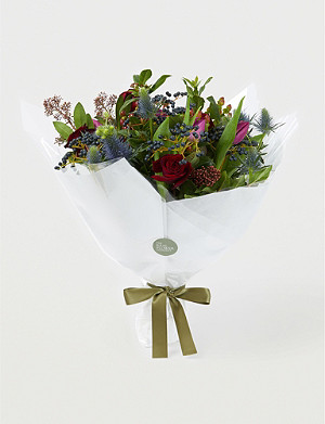 THE REAL FLOWER COMPANY Christmas Posy