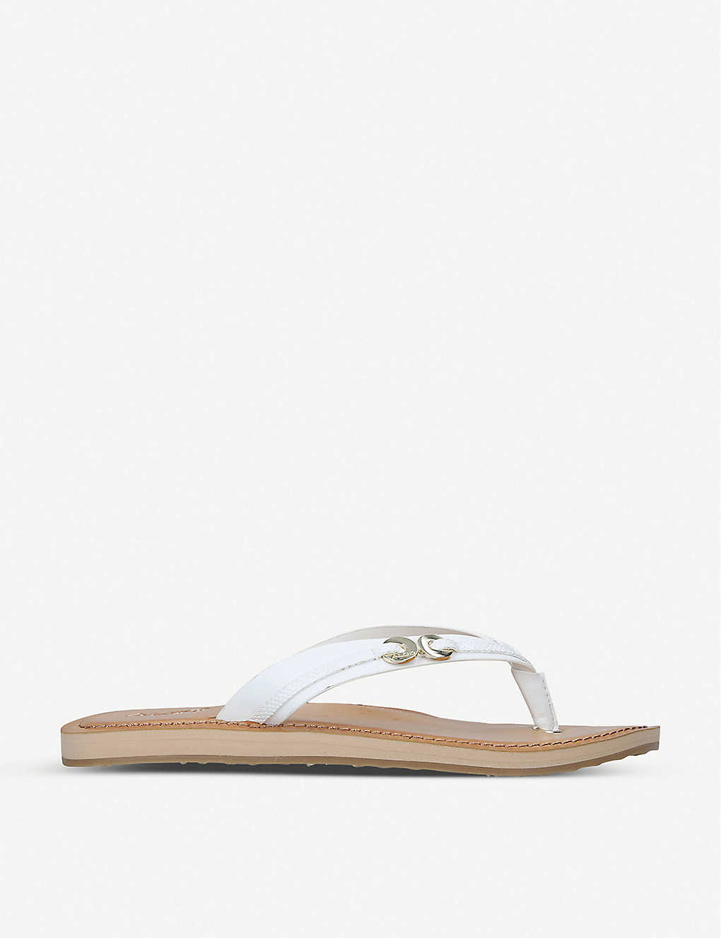 ALDO: Alkira leather thong sandals