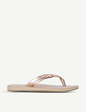 ALDO Alkira leather thong sandals
