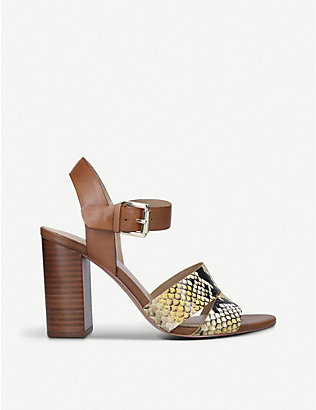 ALDO: Caparosa leather heeled sandals