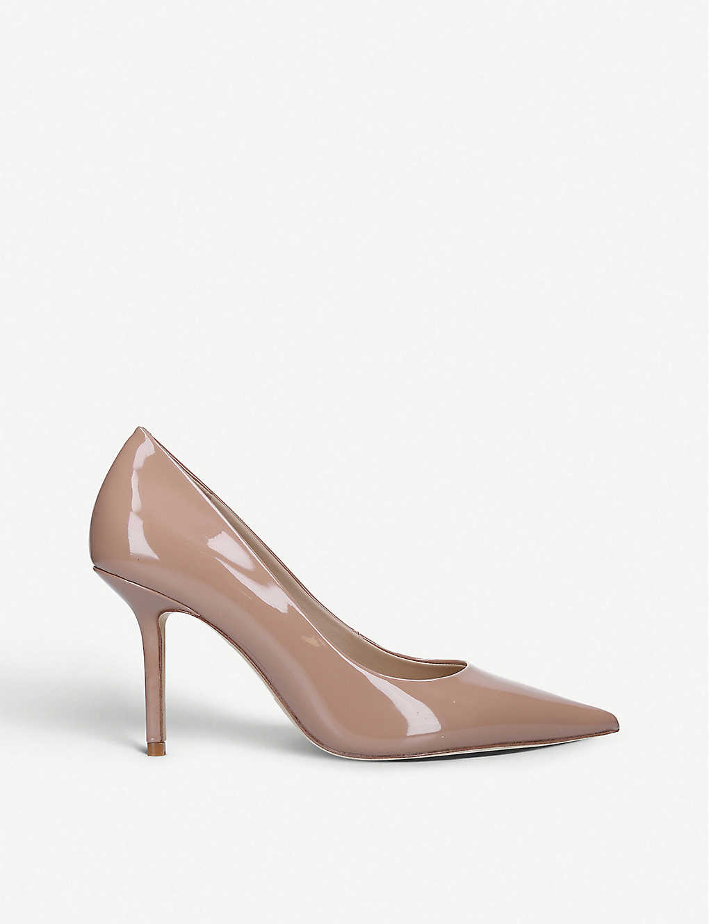 ALDO: Laurie pointed-toe patent leather courts
