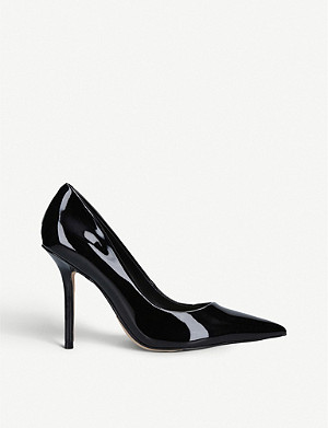 ALDO Sophy heeled patent-leather courts