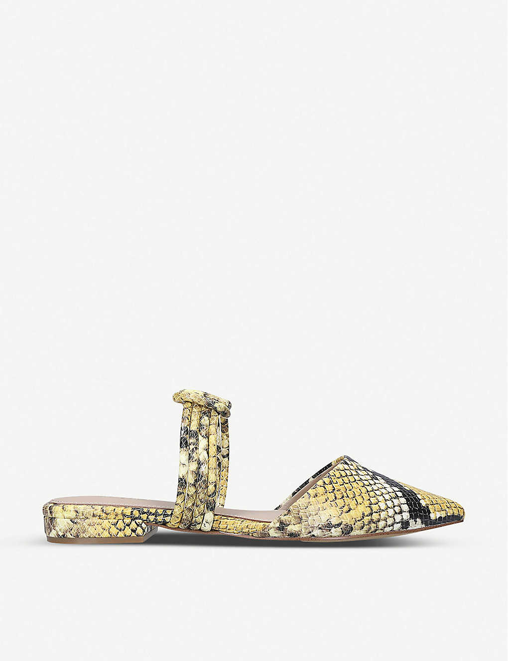 ALDO: Knottie snakeskin-print leather sandals