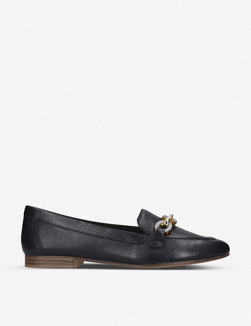 ALDO: Gwaulith keeper-detail leather loafers