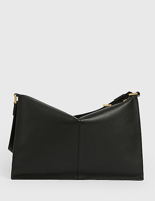 ALLSAINTS: Edbury leather shoulder bag