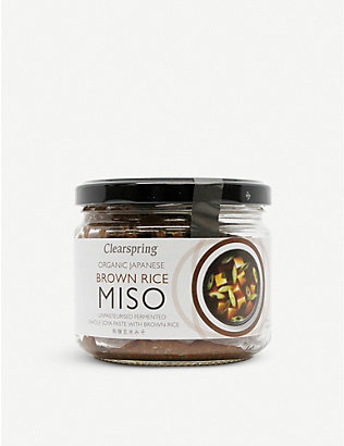 CLEARSPRING: Organic Brown Rice Miso paste 300g