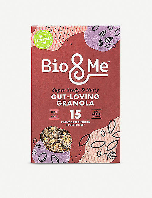 BIO & ME: Super Seedy & Nutty Gut Friendly Prebiotic granola 360g