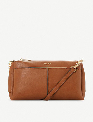 DUNE Dornea faux-leather crossbody bag
