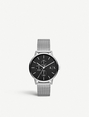 ARMANI EXCHANGE AX2714 stainless steel watch