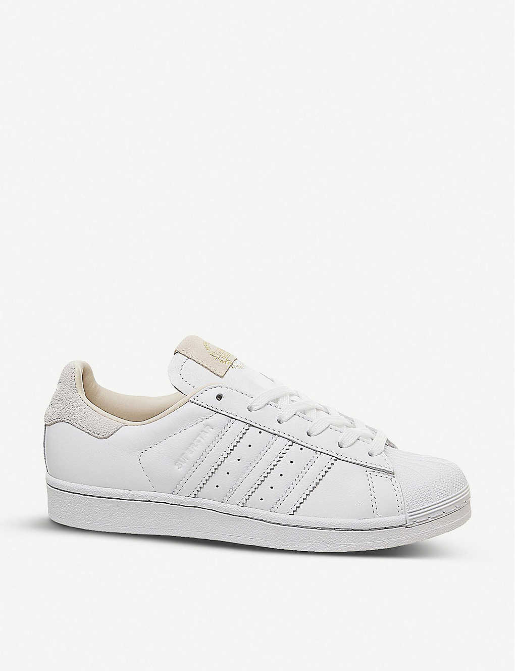 ozone lethal snowman  ADIDAS - Superstar 1 leather trainers | Selfridges.com