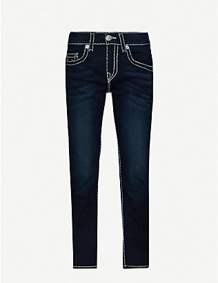 TRUE RELIGION: Rocco No Flap slim jeans