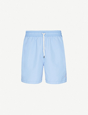POLO RALPH LAUREN Traveler contrast-drawstring swim shorts