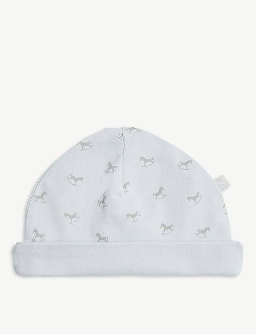 THE LITTLE TAILOR: Rocking horse cotton jersey hat 0-12 months
