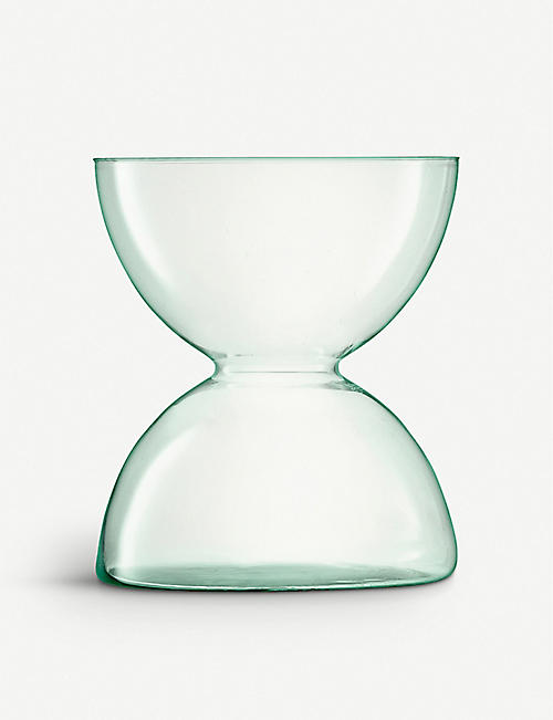 LSA: Canopy recycled glass vase 9.5cm