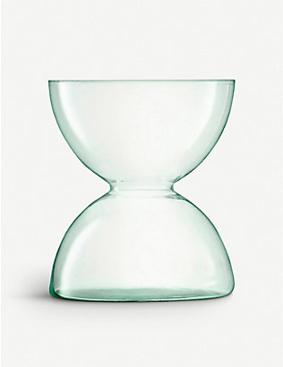 LSA: Canopy recycled glass vase 24cm