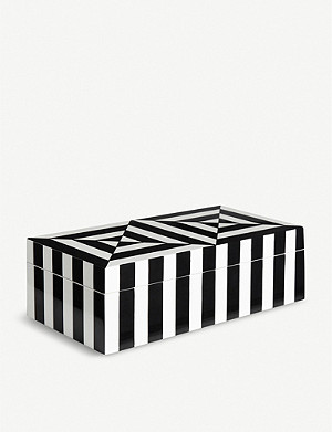 JONATHAN ADLER Op Art small box