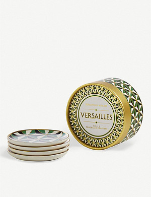 JONATHAN ADLER Versailles Coasters set of four