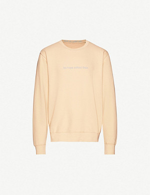 FAMT No Hope cotton-jersey sweatshirt