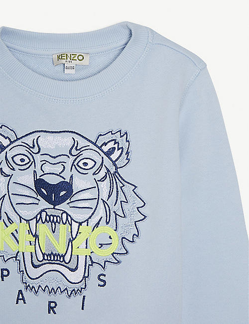 KENZO Tiger cotton sweatshirt 4-14 years