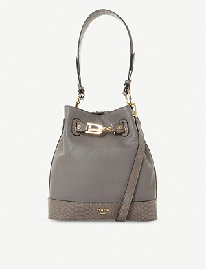 DUNE Darthur leather shoulder bag