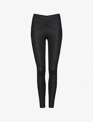 KORAL Serve high-rise stretch-jersey leggings