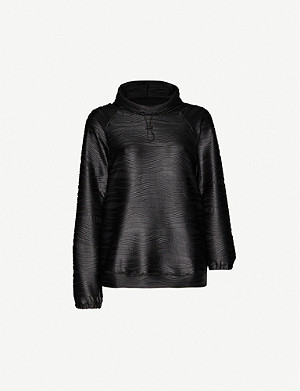 KORAL Probe DJ stretch-woven top